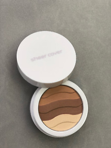 Sheer Cover Sun-Kissed Bronzing Minerals (2 x 4.5g) 0.15 OZ With Bronzing Brush!