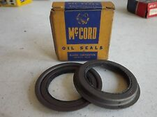 National McCord Oil Seals 7607 Front Wheel Seal NORS 5562 17815 USA