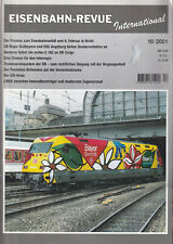 ZN- EISENBAHN-REVUE INTERNATIONAL  HEFT 10    2001