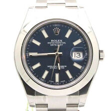 NEW Rolex Oyster Datejust II 41mm Stainless Steel Blue 116300