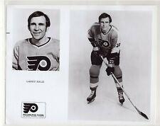 LARRY HALE 1970's PHILADELPHIA FLYERS ORIGINAL TEAM ISSUE 8x10 NHL PHOTOGRAPH