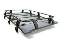 Fits Nissan Patrol Roof Rack Heavy Duty Steel Welded Black Expedition Troop2
