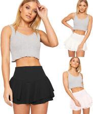 Polyester Machine Washable Mini Shorts Size Shorts for Women