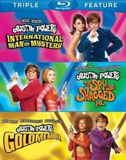 Austin Powers Collection (Blu-ray Disc Set, 2012, 3 Disc Set ) w/SLIPCOVER, NEW