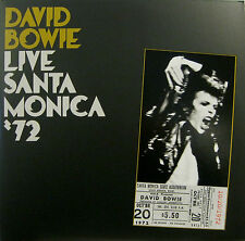 "DAVID BOWIE ""LIVE SANTA MONICA '72"" lp reissue from FIVE YEARS BOX mint"