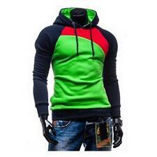 Men Casual Fleece Cardigan Hoodie Jacket Zipper Hoody Hoodies Slim Sweatshirt XD
