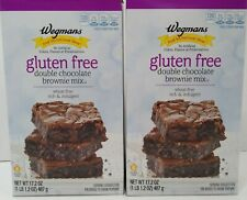 Wegmans Gluten Free Double Chocolate Brownie Mix THE BOMB! 2 Boxes