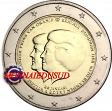 2 Euro Commémorative Pays-Bas 2013 - Alexander et Beatrix