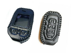 Leather Case for Compustar Prime T11 T12 2Way Remote and G15 2Way Remote 2 cases