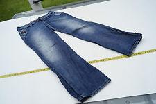 G-Star Radar Slacks Wmn Damen Jeans Hose 27/30 W27 L30 stone wash blau used #62