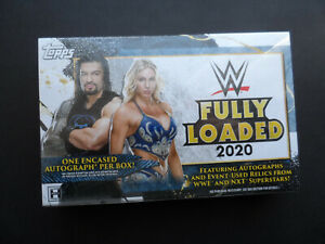 TOPPS WWE FULLY LOADED 2020 SEALED HOBBY BOX