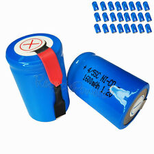 24x 1600mAh Ni-CD 4/5SC SubC Sub C 1.2V Rechargeable Battery with Tab univerisal