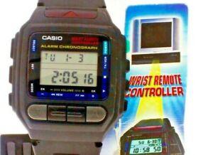 NEW Vintage Casio Rare Remote Control CMD30B-1T Resin Band 1173MOD Wrist Watch