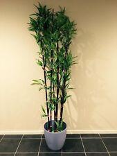 ARTIFICIAL TREES BLACK BAMBOO FAKE PLANT GREEN LATEX TREE  200CM HIGH
