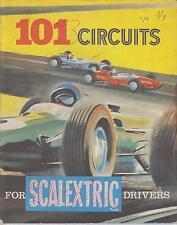 Triang SCALEXTRIC planes de circuito de carreras de ranura de coche eléctrico libro (1960s Edición)