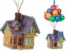 NWT Disney 2019 Carl and Ellie UP HOUSE Balloon Christmas Sketchbook Ornament