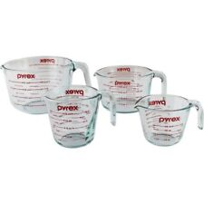 Pyrex 4-Piece Measuring-Cup Set W