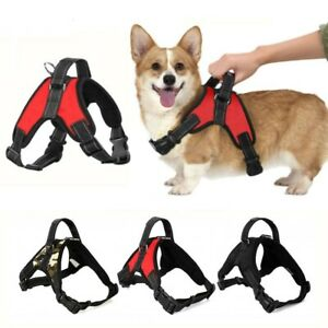 Dog Vest Harness Leash Collar No Pull Adjustable Control Small/Medium/Large/XL