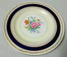"Rare*Bleu De Roi*Sinclair Pattern 9"" Salad Plate*Alfred Meakin*England*Ex cond!"