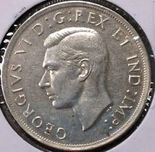 1939 CANADA 1 DOLLAR SILVER COIN