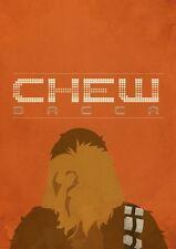 POSTER STAR WARS GUERRE STELLARI CHEWBECCA CHEWBACCA CHEW BECCA FOTO FILM #8