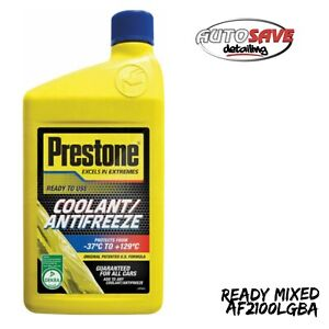 Prestone Coolant/Antifreeze - Ready to Use 1lt