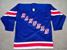 Vintage Bauer New York Rangers Hockey NHL Jersey Stitched Uniform Size Medium