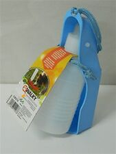 Distributore portatile acqua per cani CAMON WALKY 250 ml Azzurro viaggio M405