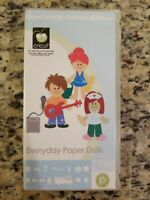 2011 Cricut Cartridge- EVERYDAY PAPER DOLLS USED COMPLETE #291042 FREE S/H