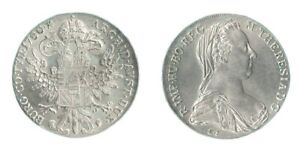 MARIA THERESA THALER 1780 OFFICIAL RE STRIKE MADE AT THE AUSTRIAN MINT IN VIENNA