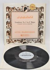 BRAHMS 'Symphony No.3 in F Major' Columbia Stereo LP KLEMPERER & Phil Orch - SB1