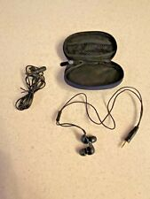 Shure SE 110 Sound Isolating Headphone Earbuds with Extra Fit Kit and Case