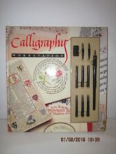 Calligraphy Work Station Book And Pen Set