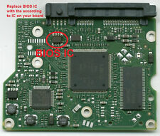 Seagate Hard Drive Disk HDD ST2000DM001 ST2000DL003 PCB 100617465 Rev