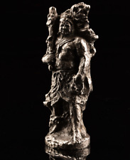 Seibo Kitamura Fudo Myo O Statue Made of Silver 900