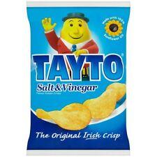 TAYTO Salt & Vinegar Crisps from Ireland 25 x 25g packs