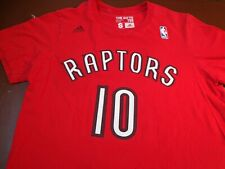 Adidas Toronto Raptors NBA Damar DeRozan T Shirt Red  Small  FLAWS    F47