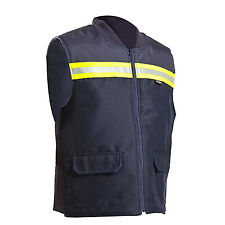 Lamartine Vest With Reflective Tape - Blue Size Medium, M0Ni-M006