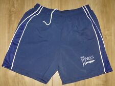 """SALE SHARKS-Sports/Casual Shorts Microfibre-NAVY/NAVY-34"""" Waist-NEW-Embroidered"""