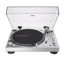 Audio-Technica AT-LP120XUSB Turntable - Silver