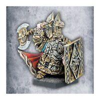 Warhammer Avatars of War Dwarf Thane with Shield Dwarves metal New