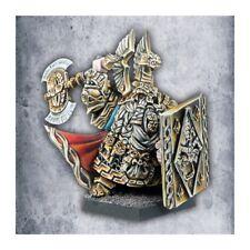 Warhammer Avatars of War Dwarf Thane with Shield Dwarves metal