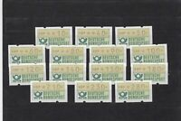 germany a.t.m automatic vending machine stamps ref r10965