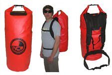 85L BIG DRY BAG DIVE BAG. Heavy duty PVC TARP. QUALITY BUILD inc rucksack straps