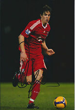 Daniel AGGER Signed Autograph Photo AFTAL COA Liverpool Premier League Authentic