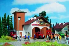Vollmer 43761 Fire Station 112, Two Stall, Kit, H0
