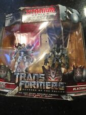 Hasbro Transformers  Titanium Series 2-Pack RATCHET & BLACKOUT New Wear
