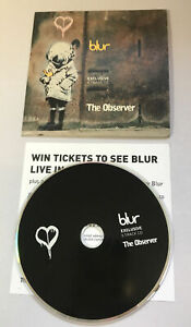 Banksy Blur RARE 5 Track Promo CD Observer 2003