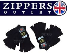 FINGERLESS GLOVES unisex Warm  Great For Winter 2 PAIRS