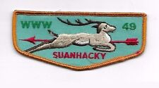OA Suanhacky Lodge 49  F6b Flap Greater New York Queens Council NY